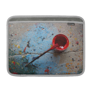 Paint the Town Red MacBook Sleeve