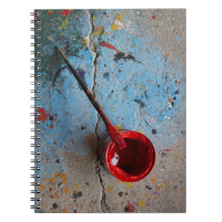 Paint the Town Red Notebook