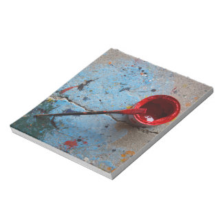 Paint the Town Red Notepad