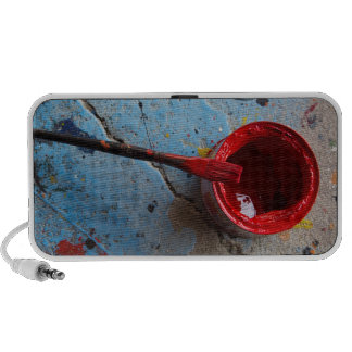 Paint the Town Red Travel Speaker