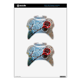 Paint the Town Red Xbox 360 Controller Decal