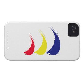 Paint-The-Wind Splashy Sails iPhone 4 Case