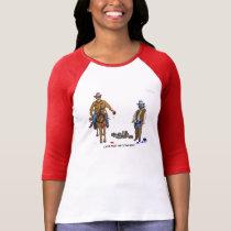 Paint Town Cowboys T Shirt