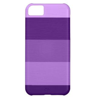 Paint violet purple stripes 3 iPhone 5C cover