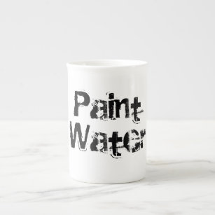 Paint Water, An artist's favorite cup! Tea Cup