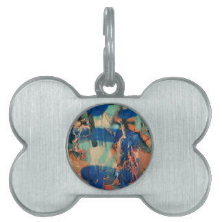paint Work Colors Pet ID Tag