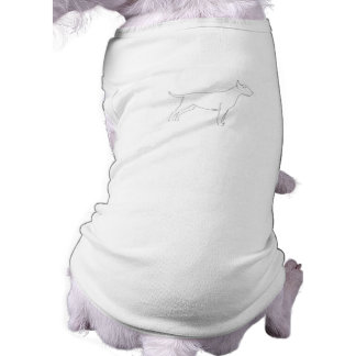 Paint Your Own Bull Terrier Pet Clothing