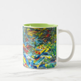 Paint Yourself Happy Mugs