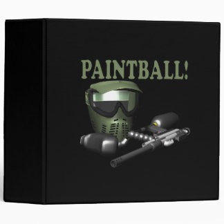 Paintball 2 3 ring binder