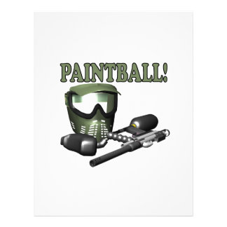 "Paintball 2 8.5"" x 11"" flyer"