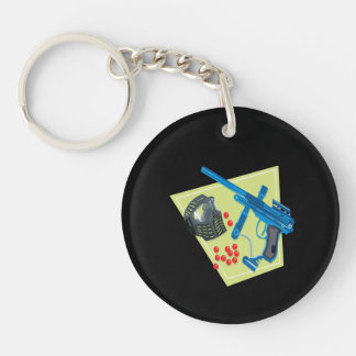 Paintball 3 keychain