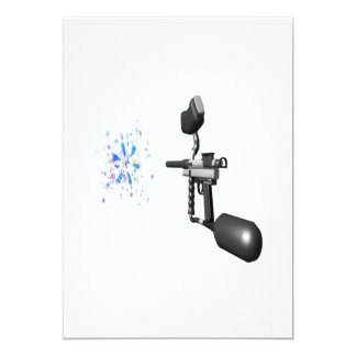 Paintball 5x7 Paper Invitation Card