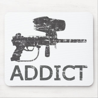 Paintball Addict Mouse Pad