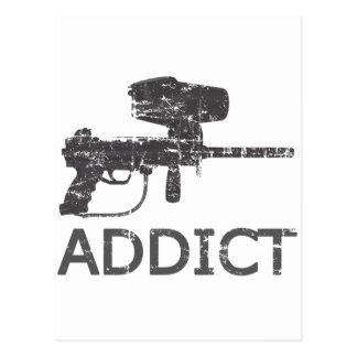 Paintball Addict Postcard
