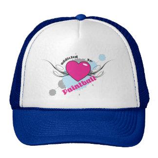 Paintball Addicted Girl Hat
