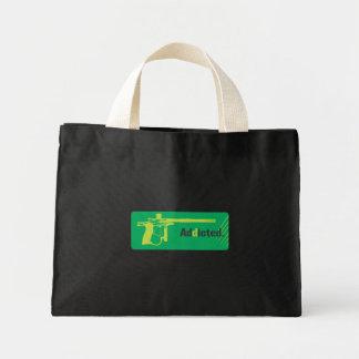 Paintball Addicted Green Logo Canvas Bag