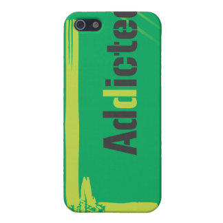 Paintball Addicted Green Logo Case Case For iPhone 5