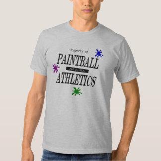 paintball althletics tee shirt
