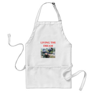 paintball adult apron