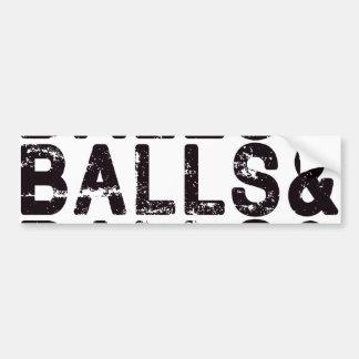 Paintball Balls Bumper Sticker