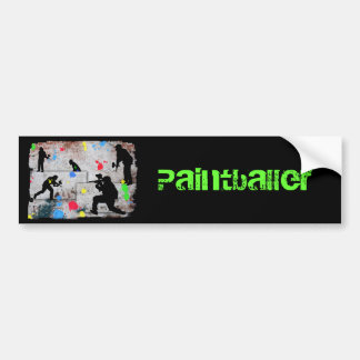 Paintball Battle Bumper Sticker