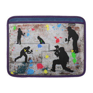 Paintball Battle Edges Sleeve For MacBook Air