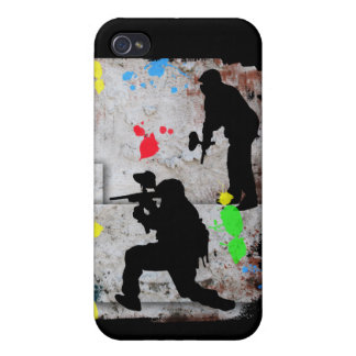 Paintball Ble Case For iPhone 4