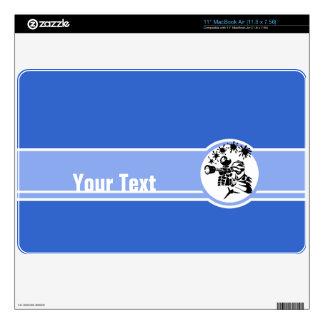 "Paintball; Blue 11"" MacBook Air Decal"