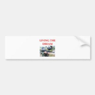 paintball bumper sticker