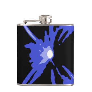 Paintball Bunker Blue Hip Flask by Janz