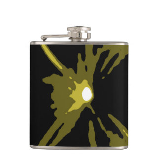 Paintball Bunker Gold Hip Flask by Janz
