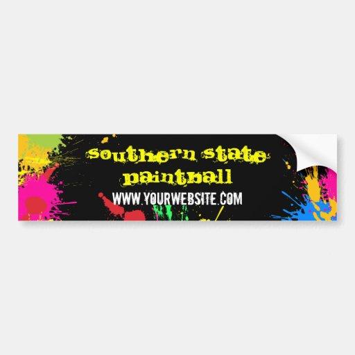 Paintball Business Bumper Sticker