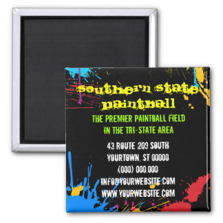Paintball Business Magnet