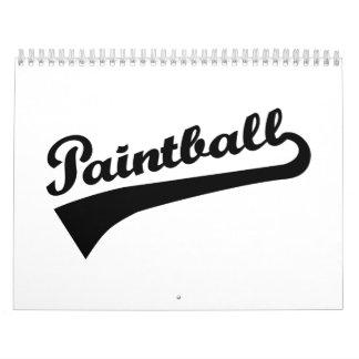 Paintball Calendarios