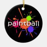 Paintball Christmas Ornaments
