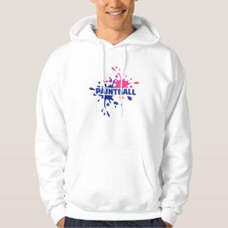 Paintball color splash hoodie