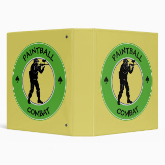 Paintball Combat Binder