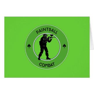 Paintball Combat Card
