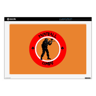 Paintball Combat Decals For Laptops