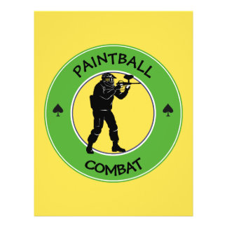 Paintball Combat Flyer