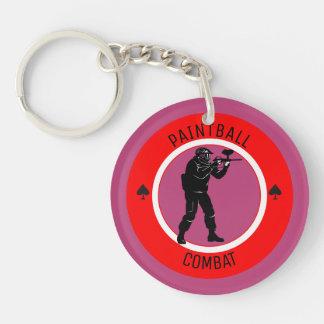 Paintball Combat Keychain