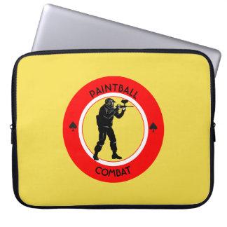 Paintball Combat Laptop Sleeve