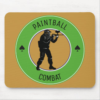 Paintball Combat Mouse Pad