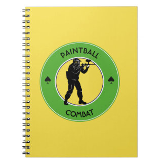 Paintball Combat Notebook