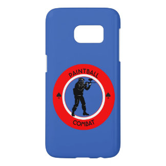 Paintball Combat Samsung Galaxy S7 Case