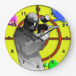 Paintball de neón radiactivo reloj