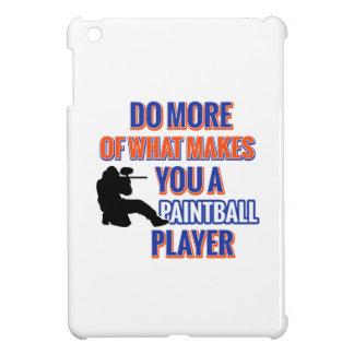 PAINTBALL DESIGN CASE FOR THE iPad MINI