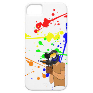 Paintball Enthusiast iPhone 5 Case