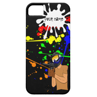 Paintball Enthusiast iPhone 5 Cases