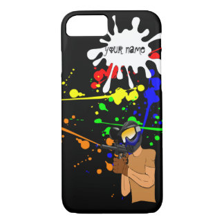 Paintball Enthusiast iPhone 7 Case